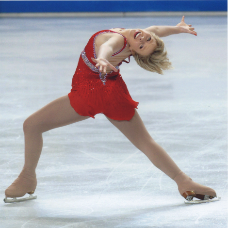Blog Post- Eating Disorder Risk in Elite Athletes, photo of figure skater