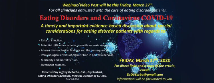 Eating Disorders and Coronavirus COVID-19